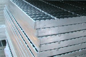 HARGA STEEL GRATING TINGGI 25 MM BERGERIGI OPEN END READY