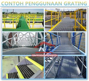 READY STOCK STEEL GRATING HOT DIP GALVANIZED SERRATED OPEN END