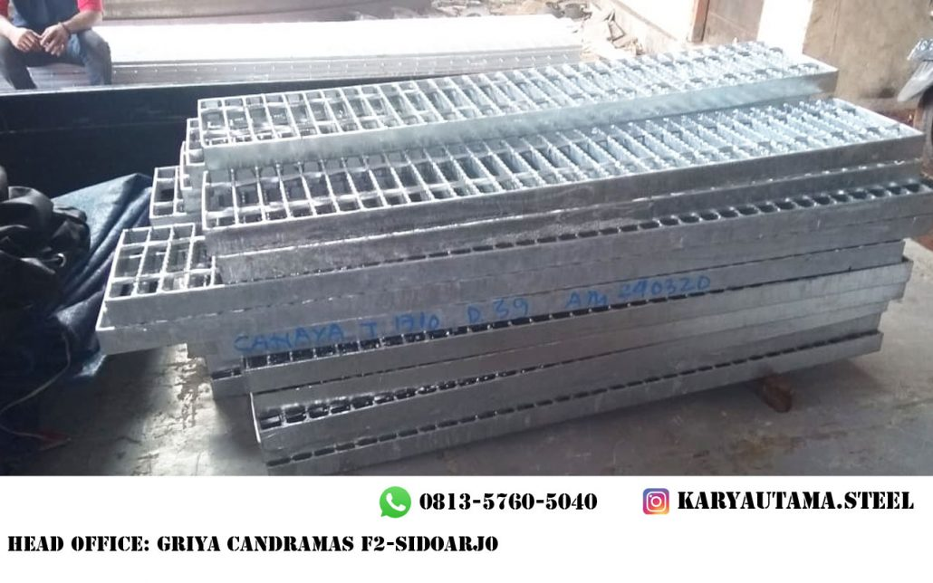 Steel Grating Galvanis Kuat
