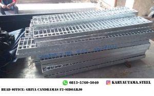 Steel Grating Murah Perunit Ukuran Standart Galvanis Hotdeep